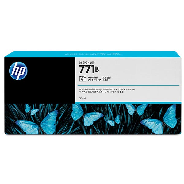 HP 771A 775ml Matte Black Designjet Ink Cartridge 3-Pack
