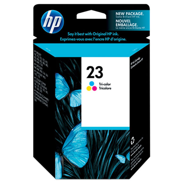 HP 23 Tricolor Ink Cartridge