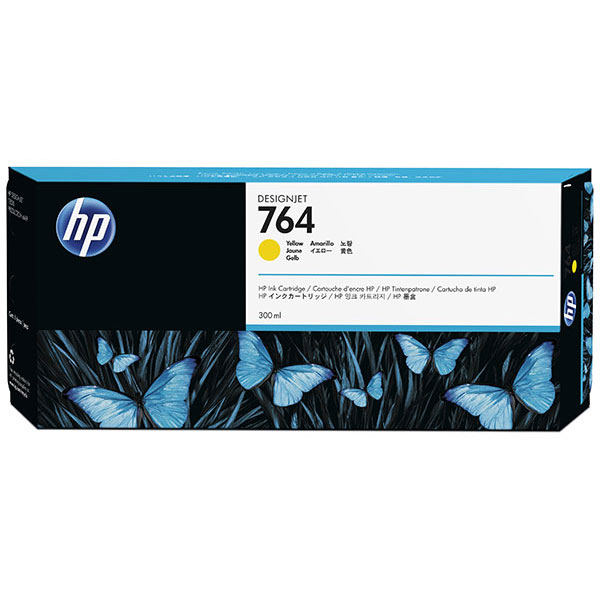 HP 764 300-ml Yellow Ink Cartridge