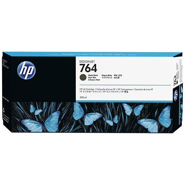 HP 764 300-ml Matte Blank Ink Cartridge