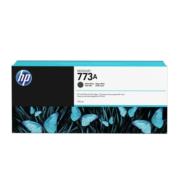 HP 773A 775-ml Matte Black Ink Cartridge