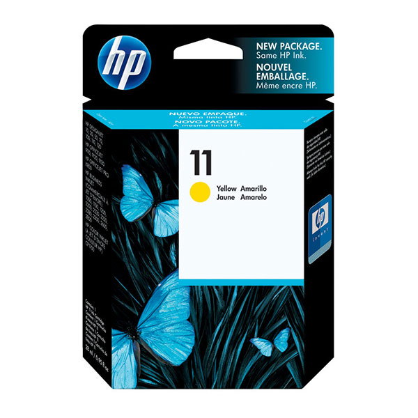 HP No 11 Yellow Ink Cartridge
