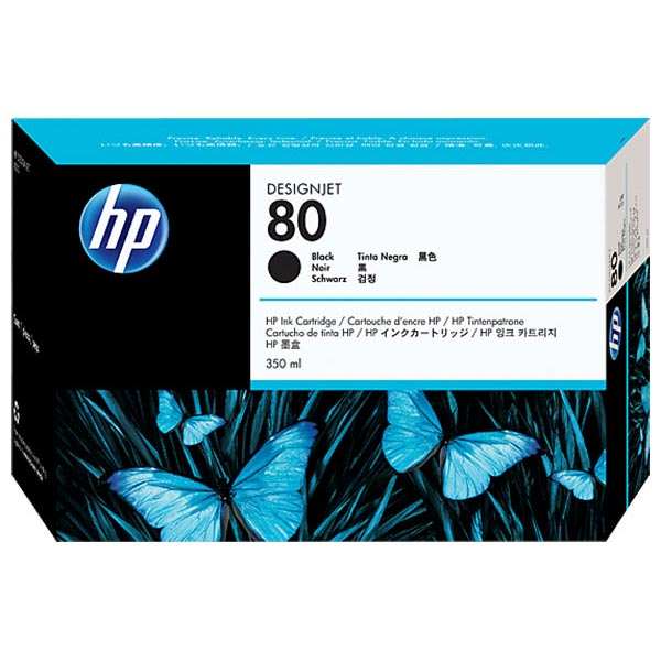 HP 80 Black Ink Cartridge (350 ml)