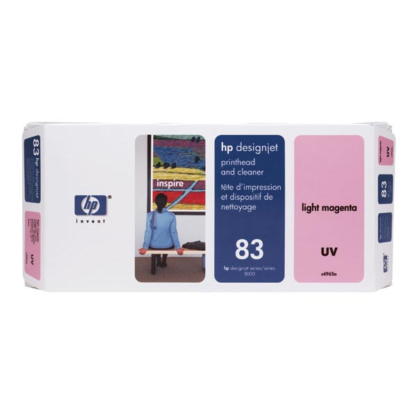 HP 83 Light Magenta UV Printhead/Cleaner