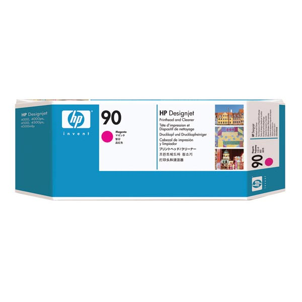 HP 90 Magenta Printhead/Printhead Cleaner