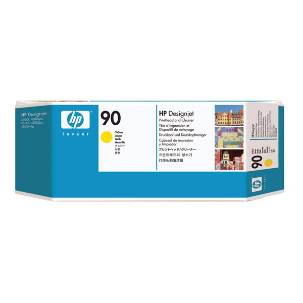HP 90 Yellow Printhead/Printhead Cleaner