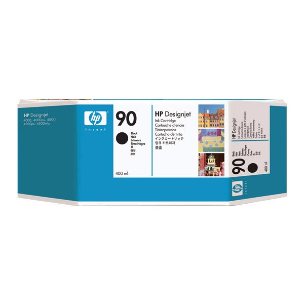 HP 90 Black Ink Cartridge (400 ml)