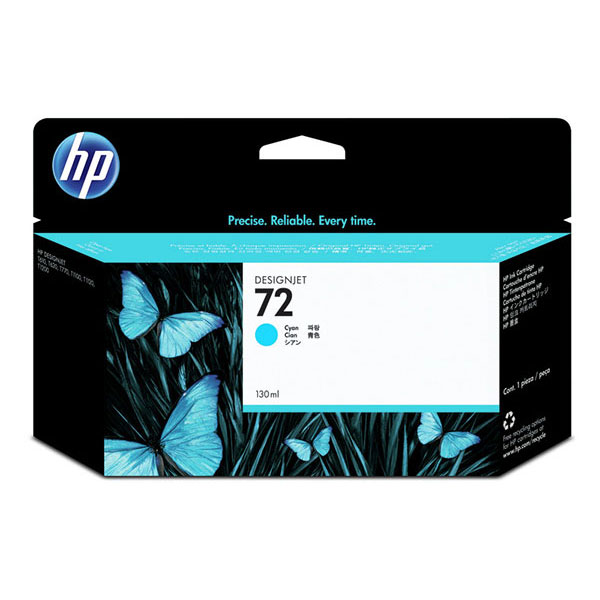 HP 72 Cyan Ink Cartridge (130 ml)