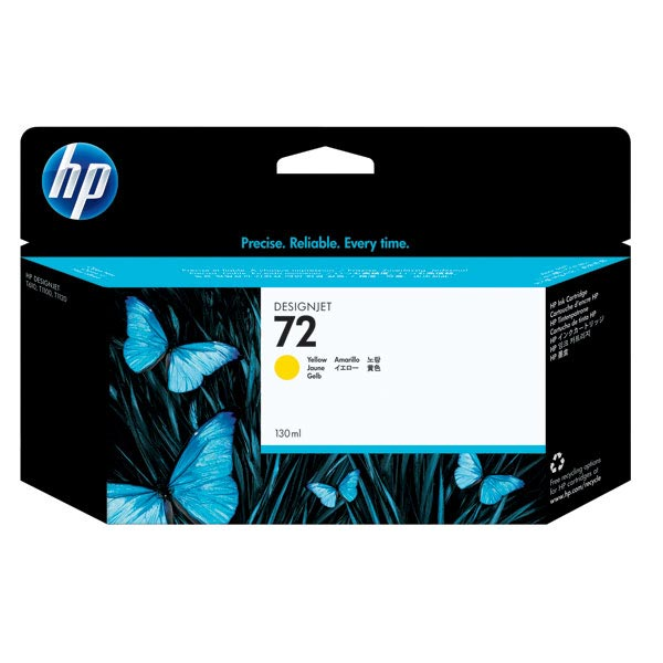 HP 72 Yellow Ink Cartridge (130 ml)