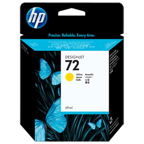 HP 72 Yellow Ink Cartridge (69 ml)