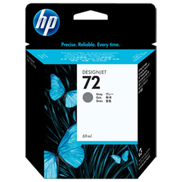 HP 72 Gray Ink Cartridge (69 ml)