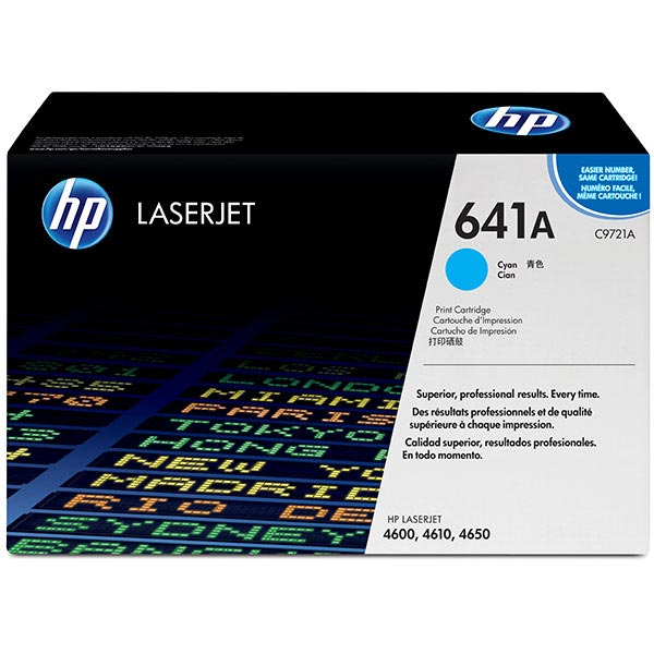 HP CLJ 4600 4650 Cyan Print Cartridge