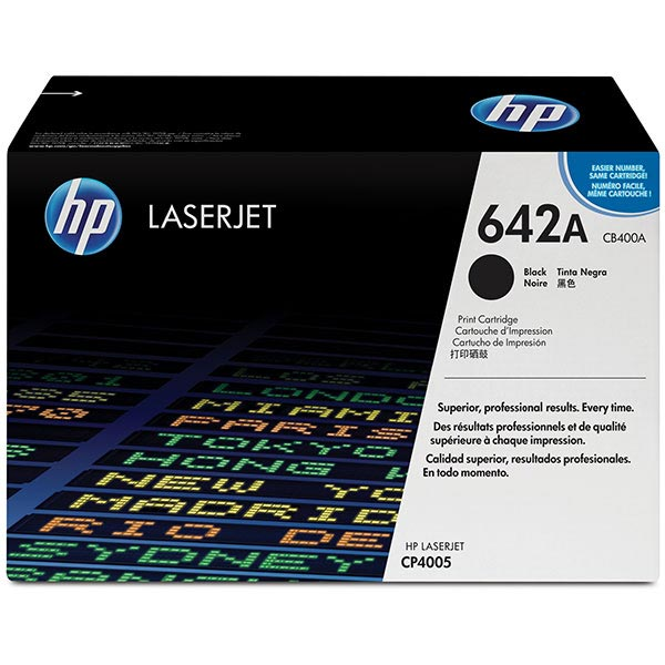 HP Color LaserJet CP4005 Black Cartridge