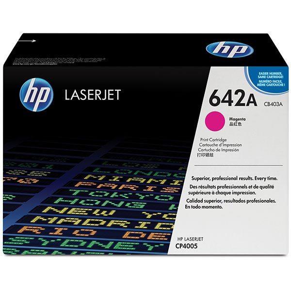HP Color LaserJet CP4005 Magenta Crtg