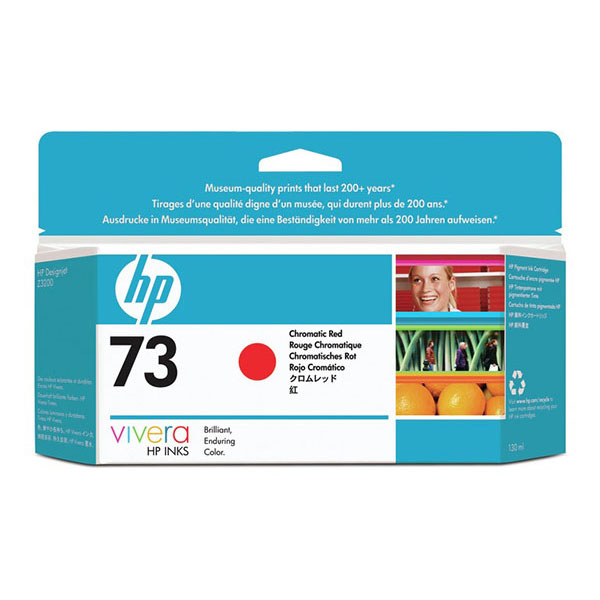 HP 73 Chromatic Red Ink Cartridge (130 ml)