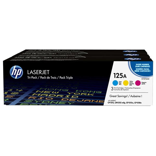 HP Color LaserJet 125A Tri-Pack Ctrg