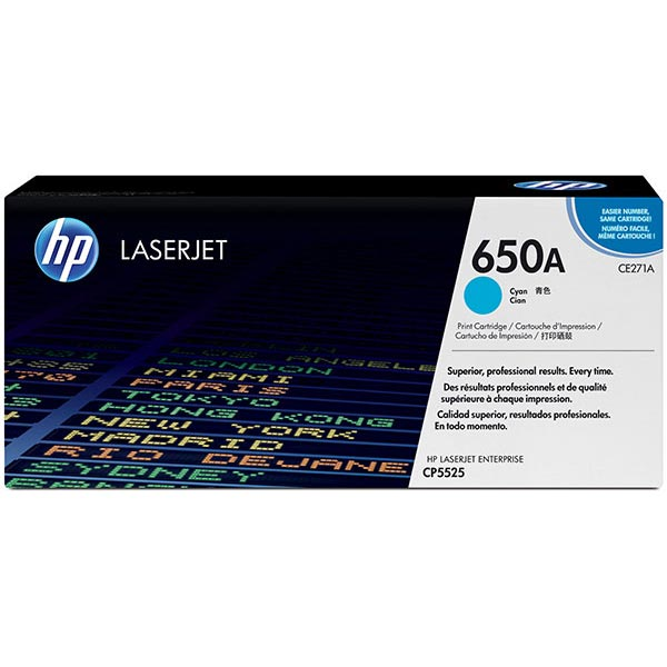HP Color LaserJet CP5525/M750 Cyan Cartridge