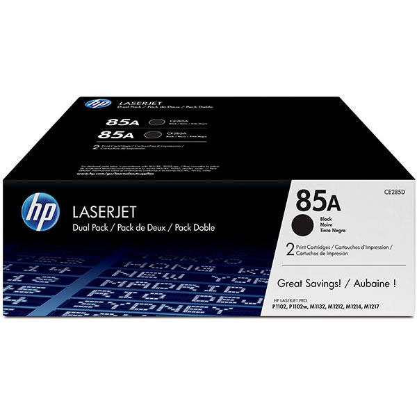 HP LaserJet P1102/M1212/M1217 nfw MFP Dual Pack Print Cartridge