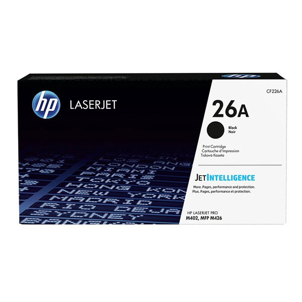 HP LJ Pro M402/MFP M426 series (26A) Toner Cartridge