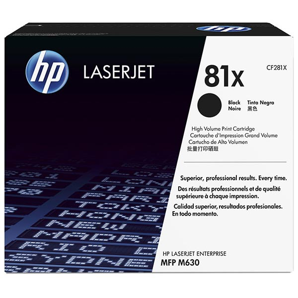 HP LJ Ent MFP M630h/M630f/M630z (81X) High Yield Toner Cartridge