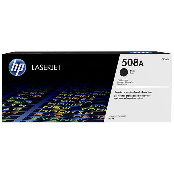 HP CLJ M553 508A Black Toner Cartridge