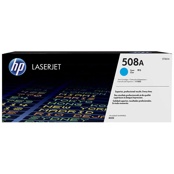 HP CLJ M553 508A Cyan Toner Cartridge
