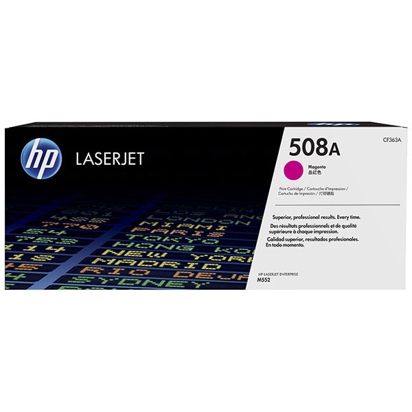 HP CLJ M553 508A Magenta Toner Cartridge