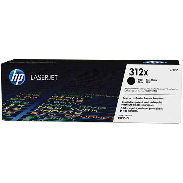 HP CLJ Pro MFP M476 Black High Yield 312X Toner Cartridge