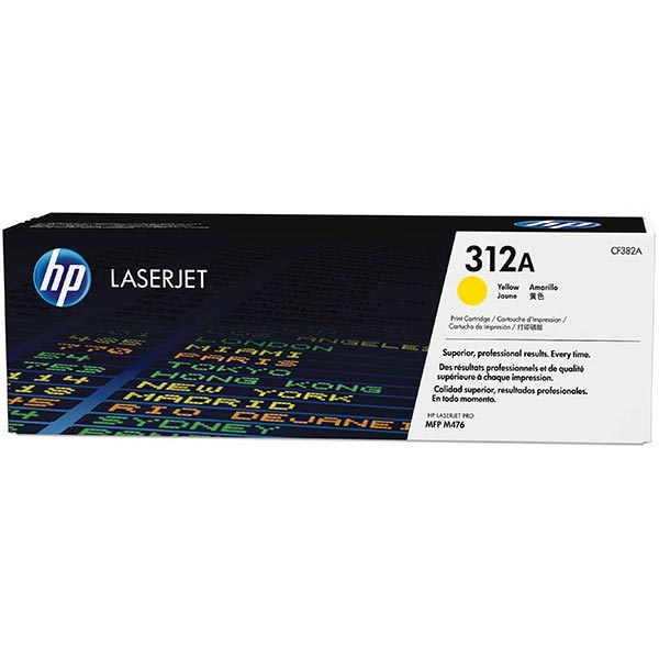 HP CLJ Pro MFP M476 Yellow 312A Toner Cartridge