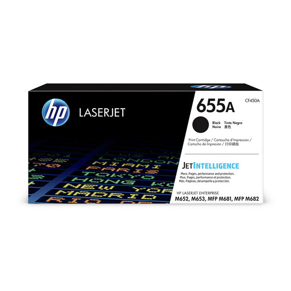 HP CLJ Ent M652/M653 series 655A Black  Ctrg