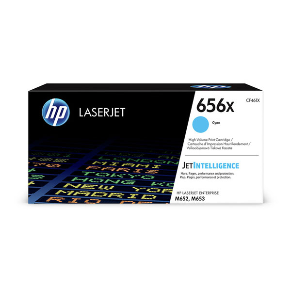 HP CLJ Ent M652/M653 series 656X High Yield Cyan Ctrg