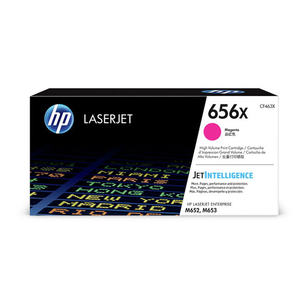 HP CLJ Ent M652/M653 series 656X High Yield Magenta Ctrg