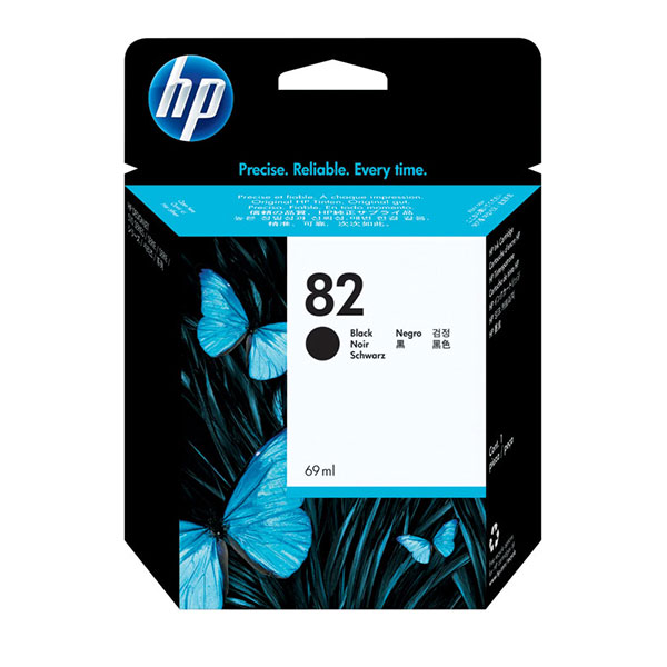 HP 82 Black Ink Cartridge (69 ml)