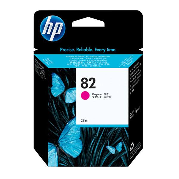 HP 82 Magenta Ink Cartridge (28 ml)