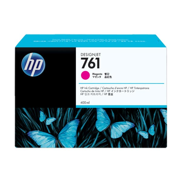 HP 761 400-ml Magenta Designjet Ink Cartridge