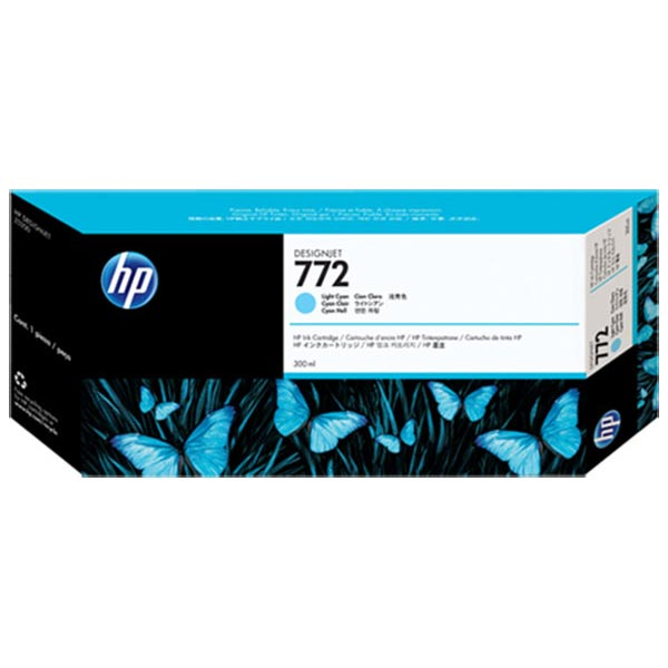 HP 772 300ml Lt Cyan Designjet Ink Cartridge