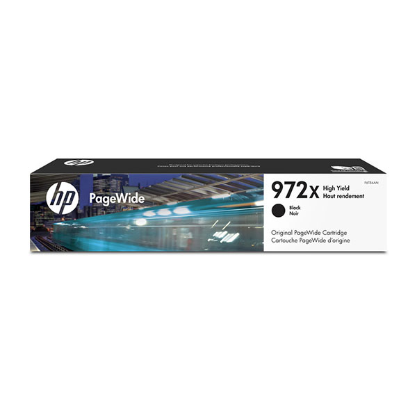 HP 972X High Yield Black Original PageWide Cartridge