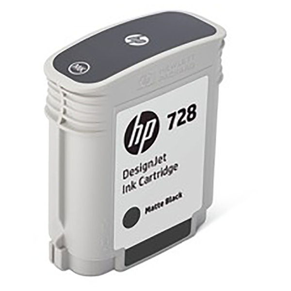 HP 728 69-ml Matte DesignJet Black Ink Cartridge