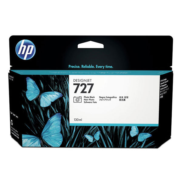 HP 727 300-ml Photo Black DesignJet Ink Cartridge