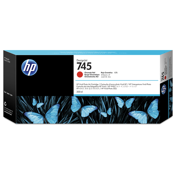 HP 745 300-ml Chromatic RedInk Cartridge
