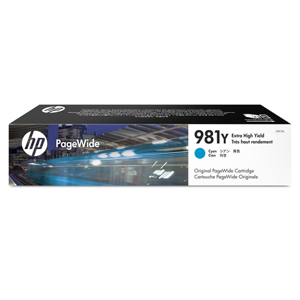 HP 981Y Extra High Yield Cyan Original PageWide Cartridge