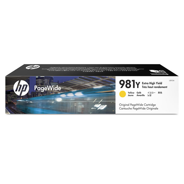 HP 981Y Extra High Yield Yellow Original PageWide Cartridge