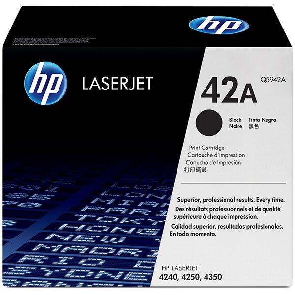 HP LaserJet 4250/4350/4240 Black Crtg