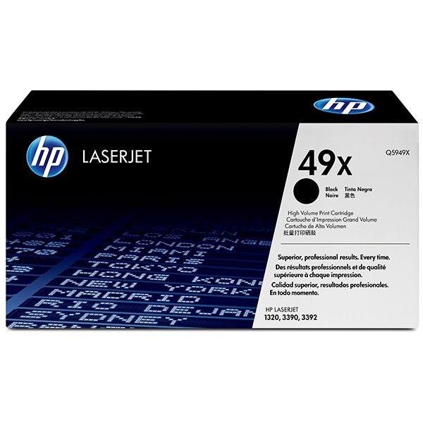 HP LaserJet 1320/3390/3392 Black Crtg