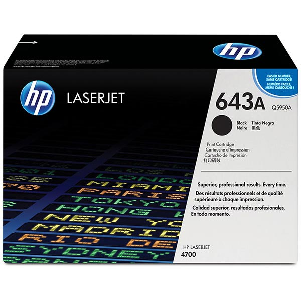 HP Color LaserJet 4700 Black Cartridge