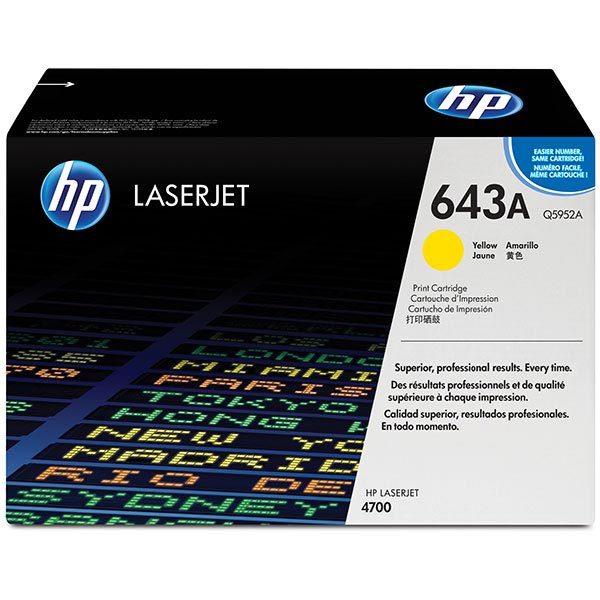 HP Color LaserJet 4700 Yellow Cartridge