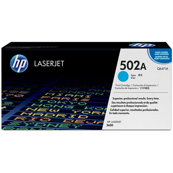 HP Color LaserJet 3600 Cyan Cartridge