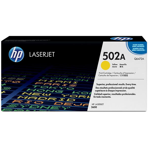 HP Color LaserJet 3600 Yellow Cartridge