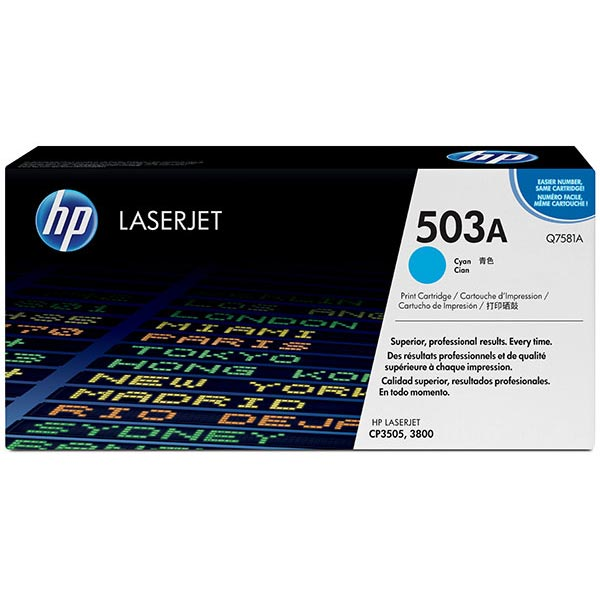 HP Color LaserJet 3505/3800 Cyan Crtg