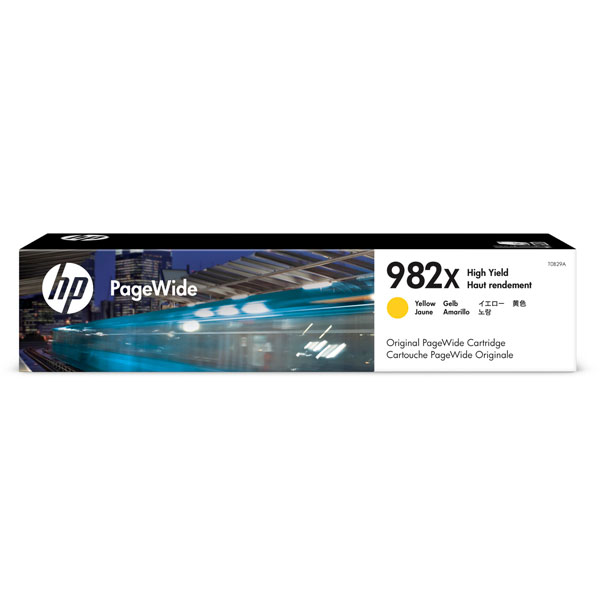 HP 982X High Yield Yellow Original PageWide Cartridge